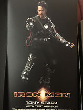 Hot Toys-Mech Test-Iron Man-Figura De Escala 1/6 - Reino Unido