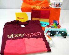 eBay Open 2019 Swag Bag Las Vegas Seller Conference Goodie Lot #ebayopen2019