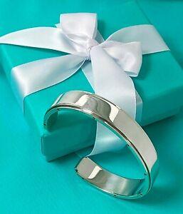 Tiffany & Co Sterling Silver MENS Cuff Metropolis Heavy X Large Bracelet