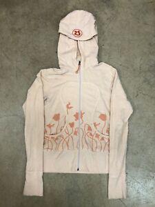 Lululemom zip up hoodie flowers