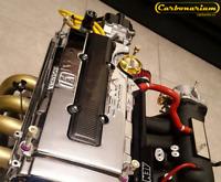 Real Carbon fiber Spark Plug Cover for Honda engine VTEC B16 B18