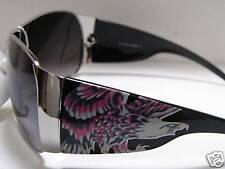 Trend Sonnenbrille von Rocktoo in Schwarz mit Adler