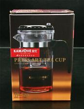 *Glass Tea Pot*Kamjove TP-120 Gongfu Press Art Tea Cup 200ml Free Shipping!!!