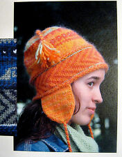 AWESOME ICEBREAKER CHULLO to KNIT in WORSTED WT YARN by GREEN MOUNTAIN SPINNERY