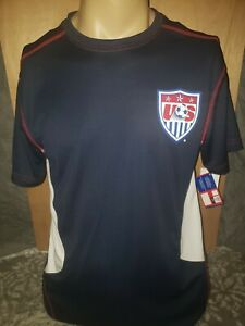 Official United States of America Soccer T-shirt Tee BNWT Size L USA Rare