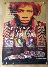 "Jimi Hendrix Mca Records 1993 promo poster ""Experience it All"" 24"" x 35.5"""