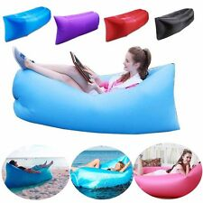 Inflatable Air Bed Lounger Couch Chair Sofa Bag for Family Outdoor Party Camping