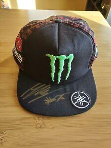 Maverick Vinales Autographed Cap