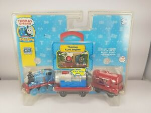NEW 2008 Thomas & Friends Take Along Thomas & Jet Engine 3-Pack DieCast TF1108