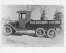 1927 Chevrolet 6-Wheel Cross Country Truck Press Photo 0305