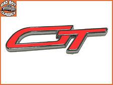 GT Coche Clásico Alta Calidad Esmalte Autoadhesivo placa pegatina ROJO