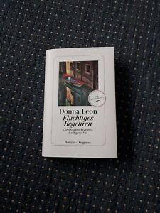 Flüchtiges Begehren, Donna Leon / Commissario Brunettis 30. Fall