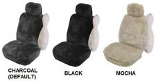 SINGLE PREMIUM 25MM SHEEPSKIN CAR SEAT COVER FOR FERRARI 512 TR RWD COUPE