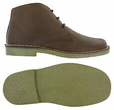 Roamers 3 Eye Desert Boots Mens Suede & Waxy Leather Casual Shoes M378 UK 6-14