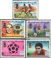 Mauretanien 584-588 (kompl.Ausg.) gestempelt 1977 Fußball-WM ´78, Argentinien