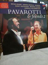 PAVAROTTI & FRIENDS 2 - PAL LASERDISC ADAMS/BOCELLI/KAMEN/VOLLENWEIDER