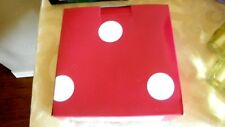 California Innovations Insulated  foldable  Lunch Bag Red Pokda Dot