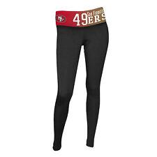 San Francisco 49ers Ladies Dynamic Knit leggings-Black