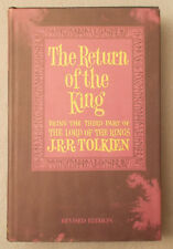 Vintage RETURN OF THE KING by J.R.R. Tolkien HARDCOVER Dust Jacket FOLDING MAP