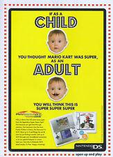 Mariokart DS 2006 Magazine Advert #2220