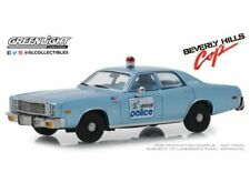 GREENLIGHT 86565 1/43 1977 PLYMOUTH FURY DETROIT POLICE BEVERLY HILLS COP