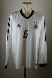 Deutschland Trikot 2002 Gr. XL DFB Adidas #6 Jersey LS Germany WM