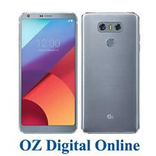"NEW LG G6 H870 64GB +128GB 4G 13MP 5.7"" Ice Platinum Dual Sim Unlocked Phone Wty"