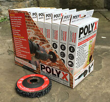 POLYX Paint, Rust & Graffiti Remover - 100mm Cup Wheel  115mm Angle Grinder Disc