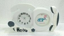 Kids Clock Co.Vintage Telephone Convertible Photo frame &Table Alarm Clock