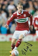MIDDLESBROUGH HAND SIGNED TARMO KINK 12X8 PHOTO.