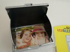 LCD Display Schutzblende für Kamera silber 3,0'