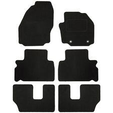 Sakura Tailored Deluxe Carpet Car Floor Mats Black Ford Galaxy Mk2 7 Seats 06-14