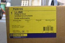 Square D PQ3610G PQ 3P 600V 100 AMP Fusible Bus Plug - NEW IN BOX