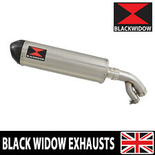BMW S1000R 2017-2019 Exhaust Silencer Oval Stainless Carbon Tip 400ST