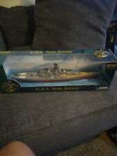 Gearbox/Military Classics U.S.S. New Jersey Die Cast Battleship 1:700 New In Box