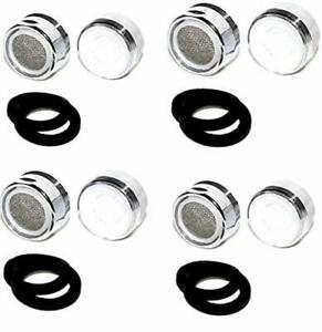 4 x Aufsatz Wassersparer Wasserhahn Mischdüse Strahlregler Luftsprudler Perlator