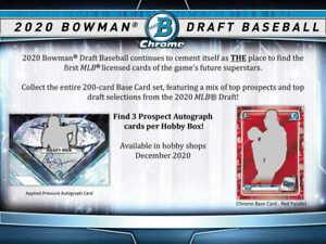 NEW YORK METS 2020 BOWMAN DRAFT JUMBO BASEBALL Half CASE 4 BOX TEAM BREAK #38