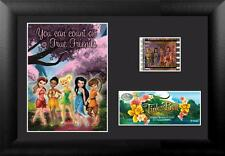 """TINKER BELL and FAIRY FRIENDS Walt Disney FRAMED FILM CELL and PHOTO 5"""" x 7"""" New"""
