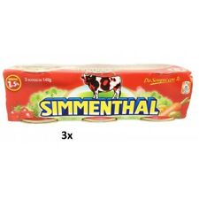 9x SIMMENTHAL beef meat in aspic 3x 140g 100% Italian meat