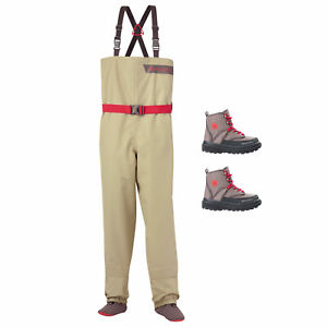 Redington Crosswater Youth Fly Fishing Waders & Boots Bundle
