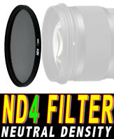 FILTRO NEUTRAL DENSITY ND4 FILTER ND 4 ADATTO A Sony FE 24-105mm F4 G OSS 77M