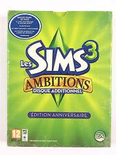 Jeu Les Sims 3 Ambitions / Disque Additionnel Sur PC Edition Anniversaire