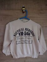 80s 90s vtg gerry mox nautical   sweatshirt sweater jumper refA9 womens