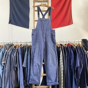 True Vintage German Chore Workwear Artisan Cotton Dungarees M