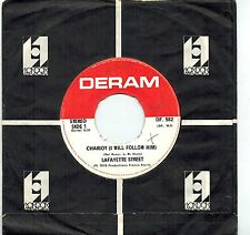 MFD IN CANADA 1976 ELECTRONIC FUNK DISCO 45 RPM LAFAYETTE STREET : CHARIOT (I