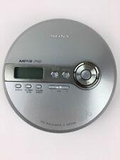 SONY D-NF340 CD Walkman Mega Bass FM Radio MP3 Silver Portable Player **Repair**