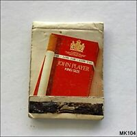 John Player King Size Low Tar Red Matchbook (MK104)