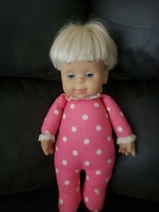 "Mattel DROWSY DOLL Classic Collection SOUND 14"" Talking"
