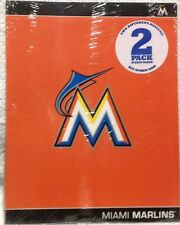 Miami Marlins 2-pack of folders New! Major League Baseball school supplies