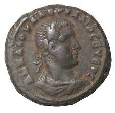Alexandria Egypt Valerian 253-260 AD Potin Tetradrachm Ancient Roman Coin